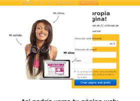 ww.paginawebgratis.es