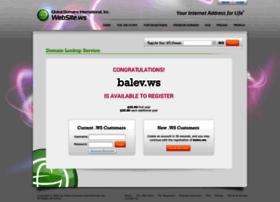 ww1.balev.ws