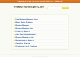 ww2.mysteryshopperagency.com