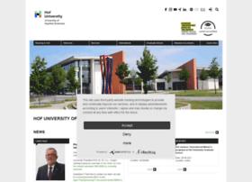 www-english.hof-university.de