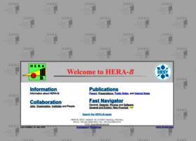 www-hera-b.desy.de