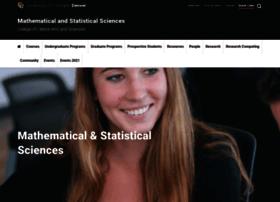 www-math.ucdenver.edu