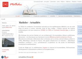 www-mathdoc.ujf-grenoble.fr