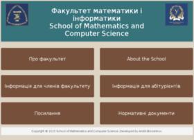 www-mechmath.univer.kharkov.ua