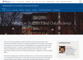 www-stat.wharton.upenn.edu