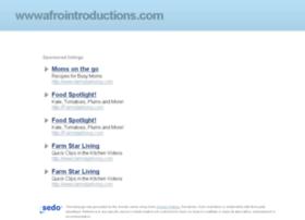 wwwafrointroductions.com