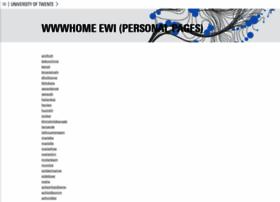 wwwhome.ewi.utwente.nl
