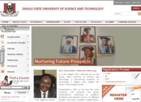 wwwm.esut.edu.ng