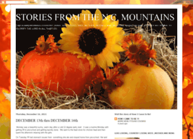 wwwstoriesfromncmountains.blogspot.com