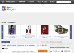wwww.bensbargains.net