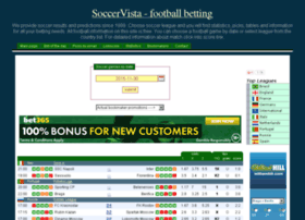 wwww.soccervista.com