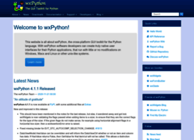 wxpython.org