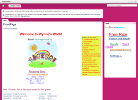 wynnesworld.pbworks.com