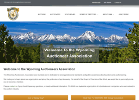 wyoauctioneers.org