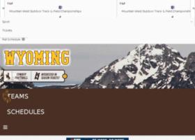 wyomingathletics.collegesports.com