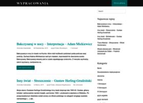 wypracowanie.edu.pl