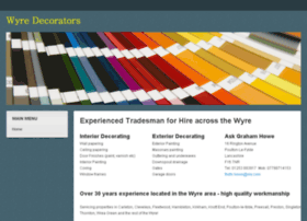 wyre-decorators.co.uk