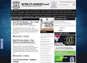 wyrleyjuniors.net