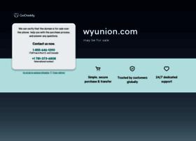 wyunion.com