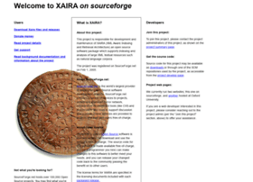 xaira.sourceforge.net