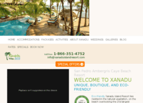 xanaduresort-belize.com