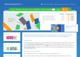 xboxlivekaarten.nl