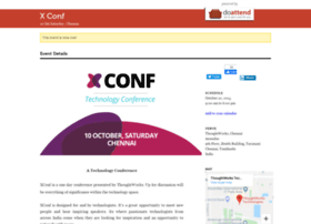 xconf-chennai-thoughtworks.doattend.com