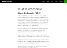 xedoscoin.com