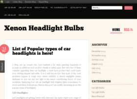 xenonheadlightbulbs.blog.com