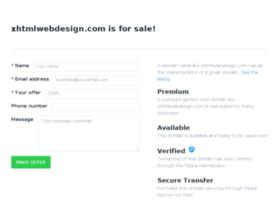 xhtmlwebdesign.com