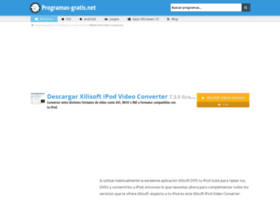 xilisoft-ipod-video-converter.programas-gratis.net