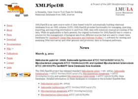 xmlpipedb.cs.lmu.edu