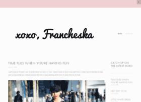 xoxofrancheska.com