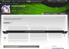 xsysloxedyta.gamerdna.com