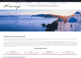 yachtchartergreekislands.com