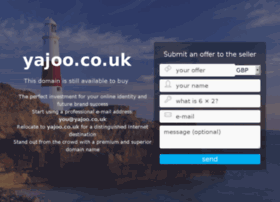 yajoo.co.uk