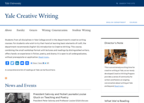 yalecreativewriting.yale.edu