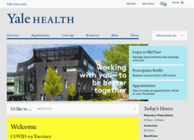yalehealth.yale.edu
