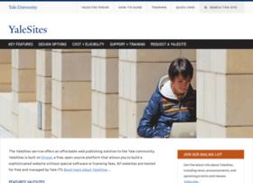 yalesites.yale.edu