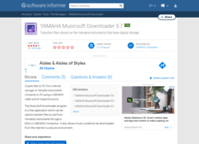 yamaha-musicsoft-downloader.software.informer.com