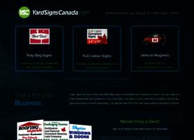 yardsignscanada.com