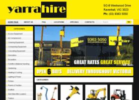 yarrahire.com.au