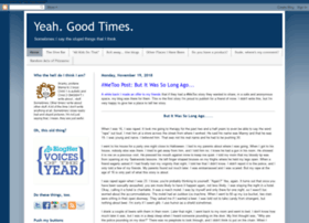 yeahgoodtimes.blogspot.com