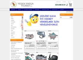 yedekparcaticaret.com