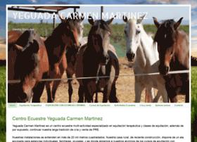 yeguadacarmenmartinez.com