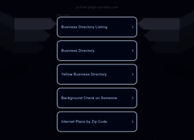 yellow-page-canada.com