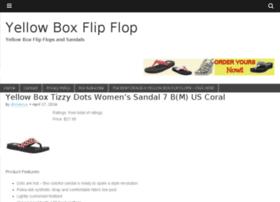 yellowboxflipflop.com