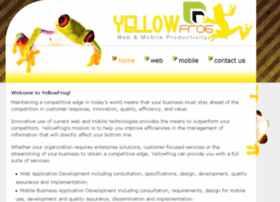 yellowfrogweb.com