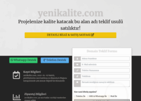 yenikalite.com