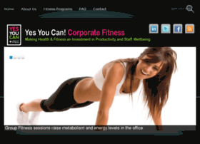 yescorporatefitness.com